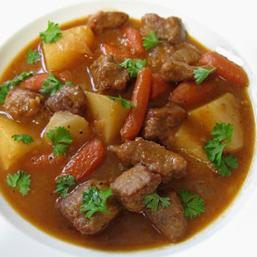Lebanese Potato and Lamb Stew