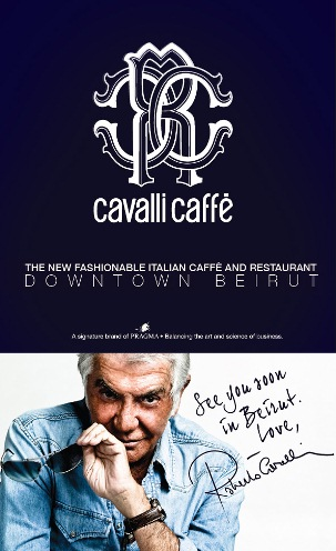 Roberto Cavalli Announces the Opening of his First Restaurant in Beirut